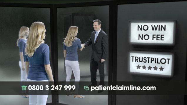 Patient Claim Line TV Advert 2016